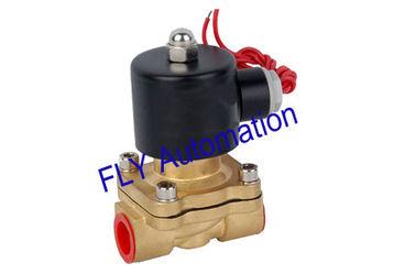 China Orifício de 16 mm Unid 2 maneira latão água electroválvulas pressão 2W160-15 fornecedor