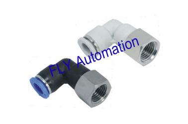 China Rápida Clamp FLP Pisco fêmea cotovelo zinco latão métrica pneumática acessórios para tubos fornecedor
