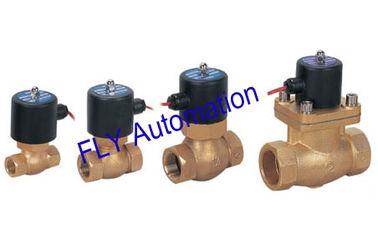China Latão vapor válvulas solenóides (EUA) 2L170-10,2L170-15,2L170-20,2L200-25,2L300-35,40,2L500-50 fornecedor