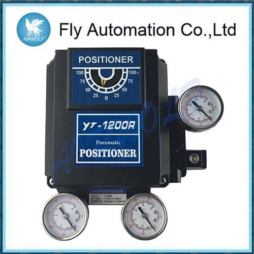 Pneumatic positioner YT-1200R used for pnuematic rotary valve actuators