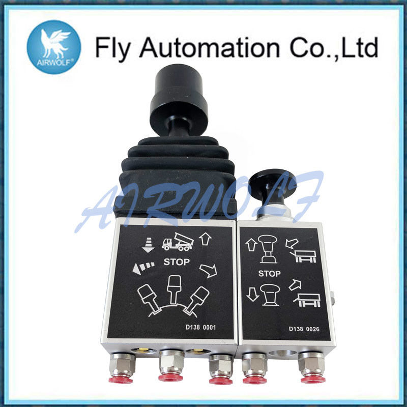 Aluminum Alloy 14750430H double acting proportional air control tipping valve Dump Truck Controls
