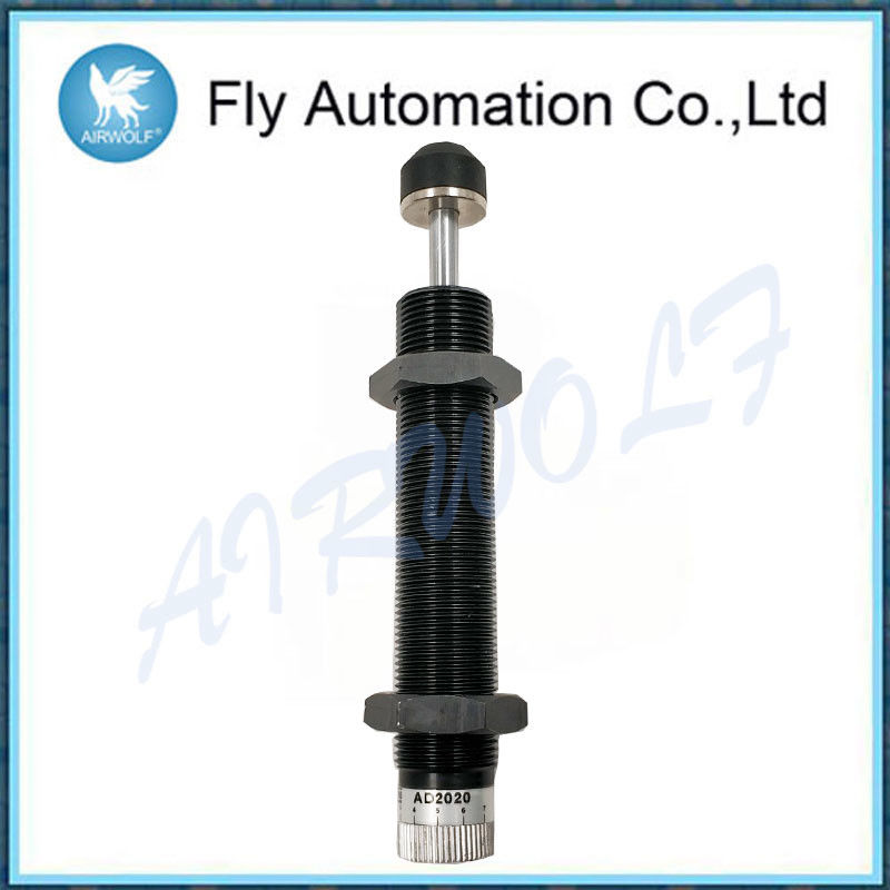 Carbon Steel Hydraulic Shock Absorber / Pneumatic Shock Absorber Length 170 Mm