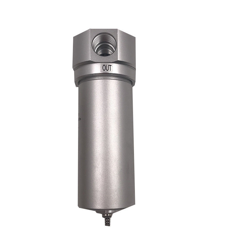 G1/2 Port Size Pneumatic High Pressure Filter QSLH-15 Aluminum Alloy Body Material