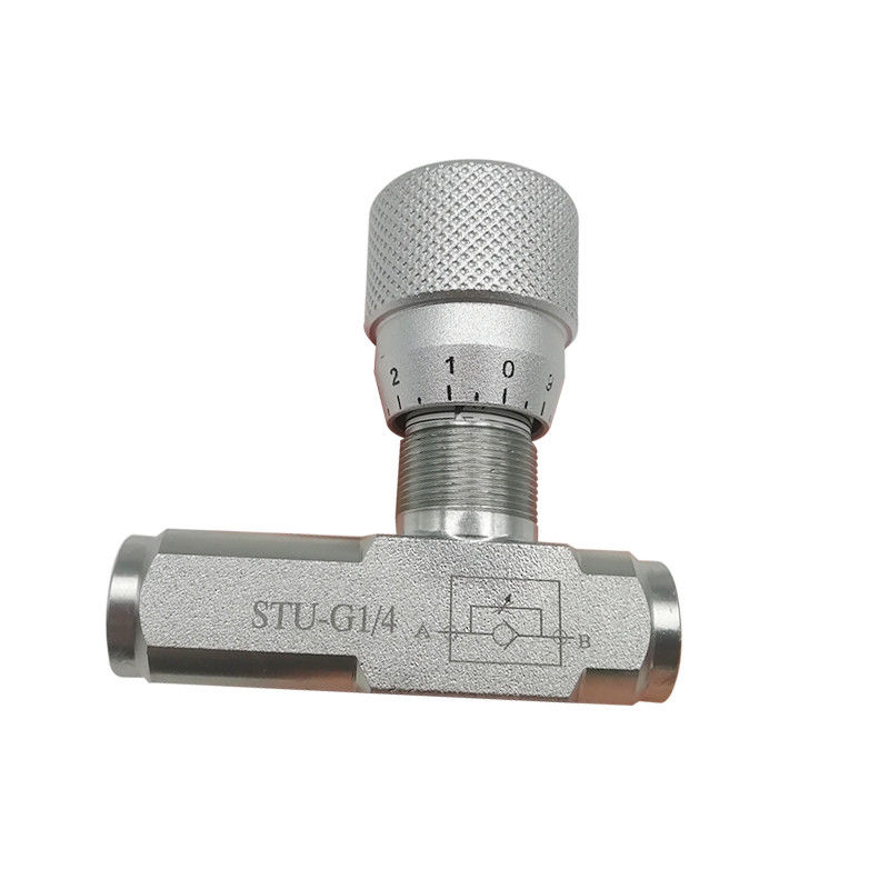 STU-G1/4 STU-G3/8 Air Flow Control Valves Unidirectional Throttle STU Type Check Valve