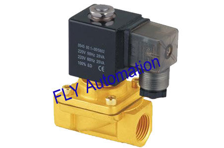 Normally Closed Brass Zinc 2 way Water Solenoid Valve PU220-04,PU220-06,PU220-08