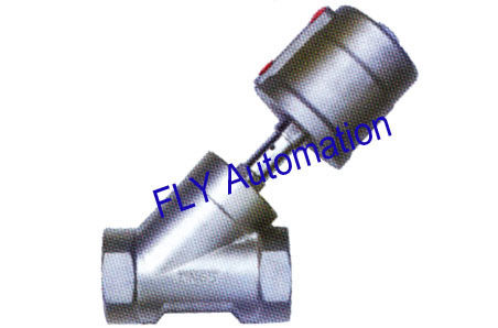 "2.5"" 2000 Type 001703 PPS Actuator Threaded Port 2/2 Way Angle Seat Valve"