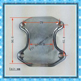 China Flange rachada de alta temperatura da tubulação de exaustão dos distribuidores das peças de automóvel do carro distribuidor